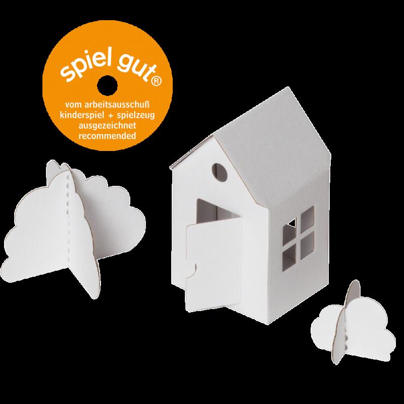 Das kleine Papphaus
