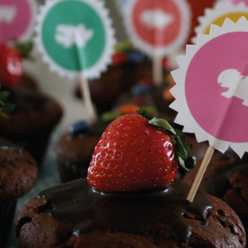 Superschoko-Muffins Rezept