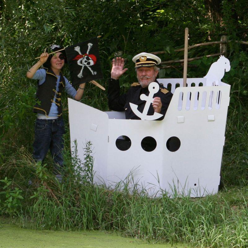 Das große Piratenschiff