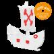 Das kleine Piratenschiff