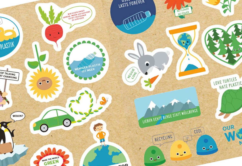 Stickerbook  STICKERS FOR FUTURE *neu bei bibabox*